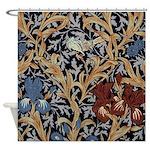 William Morris Iris Design Shower Curtain