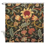 William Morris Evenlode design Shower Curtain