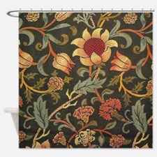 William Morris Evenlode design Shower Curtain
