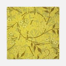 Jasmine Design Queen Duvet