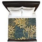 Tulip and willow King Duvet