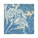 Morris Tulip Blue design Queen Duvet