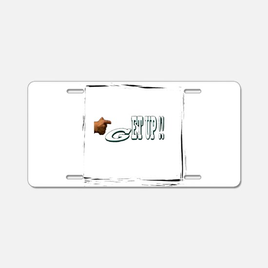 get up Aluminum License Plate