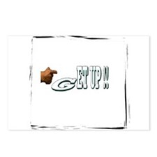 get up Postcards (Package of 8)