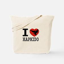 I love Hapkido Tote Bag