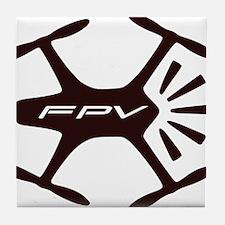 FPV Quad Pilots Tile Coaster