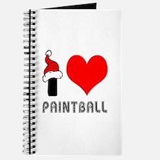 I Love Paint Ball Journal