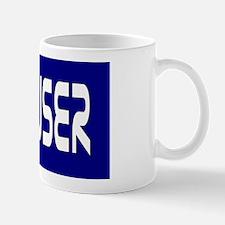 Scouser White on Blue Mug