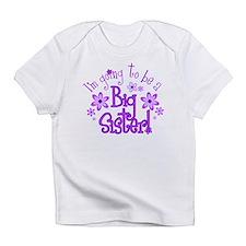 Cute Big sister of three girls Infant T-Shirt
