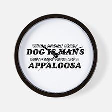 Appaloosa pet designs Wall Clock