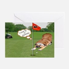 Chow Golfing Greeting Cards (Pk of 10)