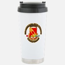 Army - 2-20th FA w VN SVC Travel Mug