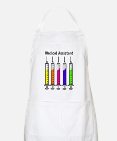 Medical Assistant 7 syringes Apron