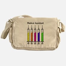 Medical Assistant 7 syringes Messenger Bag