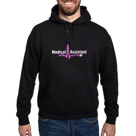 Medical assistant 3 pink Hoodie