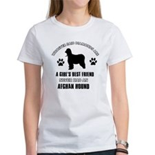 Afghan hound Mommy designs Tee