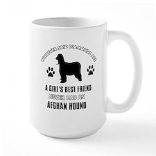 Afghan hound Mommy designs Mug