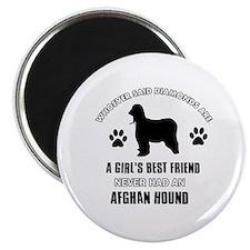 Afghan hound Mommy designs Magnet