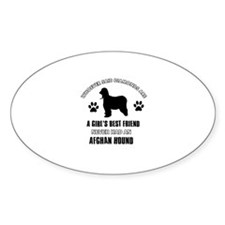 Afghan hound Mommy designs Decal