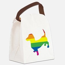 Gay-Pride-Doxie.png Canvas Lunch Bag