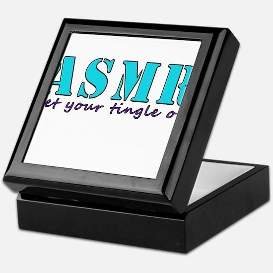 ASMR get your tingle on Keepsake Box