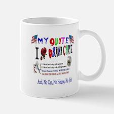 Obamacare Anti American Mug