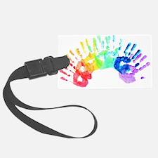 Rainbow Hands Luggage Tag