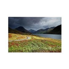 Wastwater storm clouds Rectangle Magnet