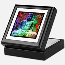 Life Tripping With Buddha Keepsake Box