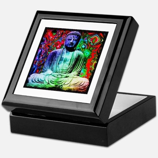 Life Tripping With Buddha Keepsake Box