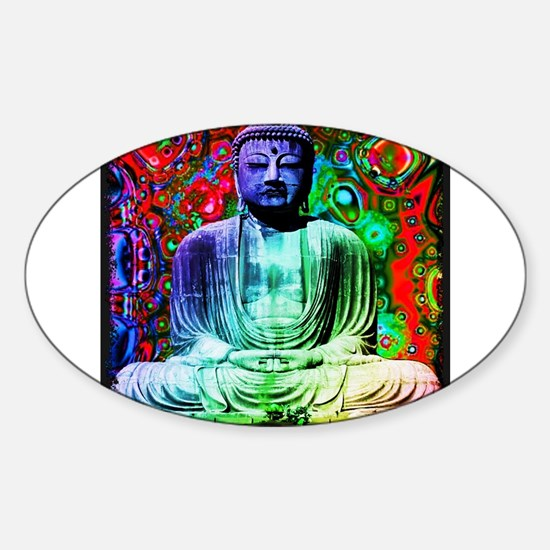 Life Tripping With Buddha Decal