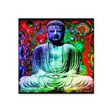 Life Tripping With Buddha Sticker