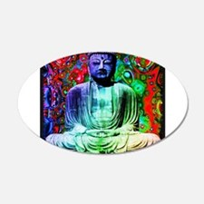 Life Tripping With Buddha Wall Decal