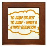 Bungee jumping, magnet Framed Tiles
