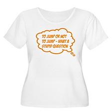 jump Plus Size T-Shirt