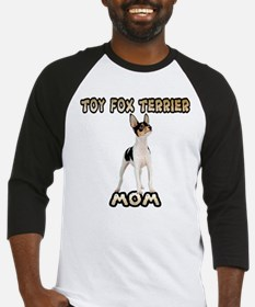 Toy Fox Terrier Mom Baseball Jersey