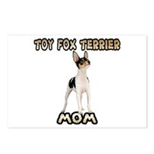 Toy Fox Terrier Mom Postcards (Package of 8)