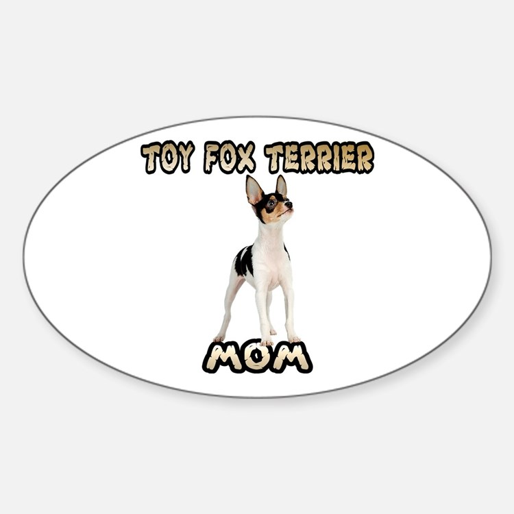 Toy Fox Terrier Mom Decal
