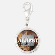 ABH Alamo Silver Round Charm