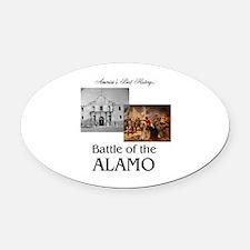 ABH Alamo Oval Car Magnet