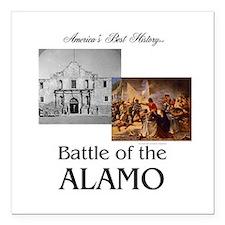 """ABH Alamo Square Car Magnet 3"""" x 3"""""""