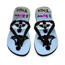 LOVE YOGA Flip Flops