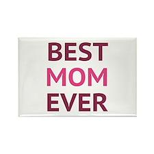 Best Mom Ever Rectangle Magnet (10 pack)