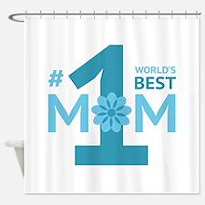 Nr 1 Mom Shower Curtain