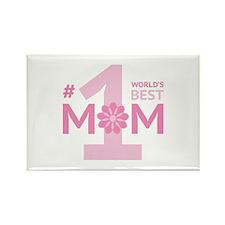 Nr 1 Mom Rectangle Magnet (10 pack)