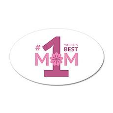 Nr 1 Mom 22x14 Oval Wall Peel