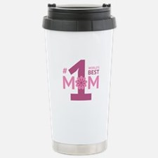 Nr 1 Mom Stainless Steel Travel Mug