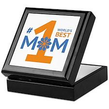 Nr 1 Mom Keepsake Box