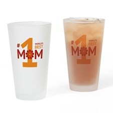 Nr 1 Mom Drinking Glass