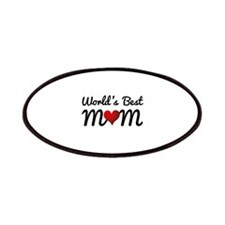 World's Best Mom Patches